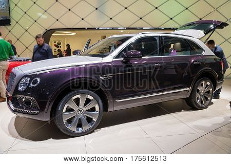 Bentley Bentayga Mulliner Car