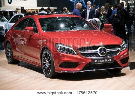 Mercedes Benz Cls 350D 4Matic Car