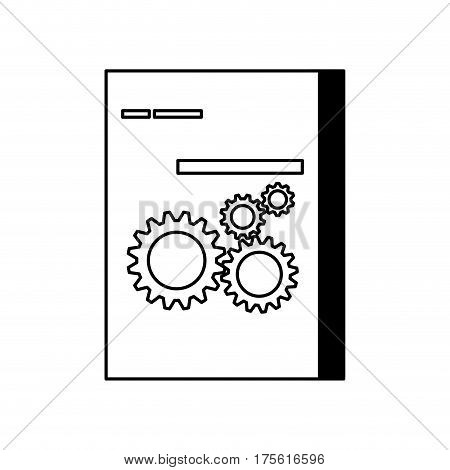 Software computer box icon vector illustration graphic design