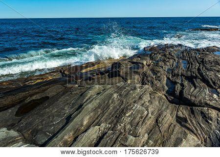 Pemaquid Point Lighthouse Park Shore