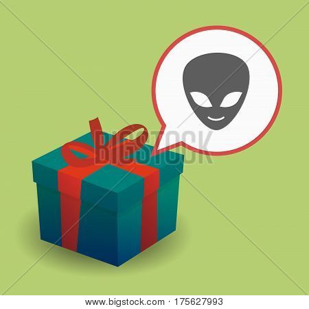 Present With An Alien Face