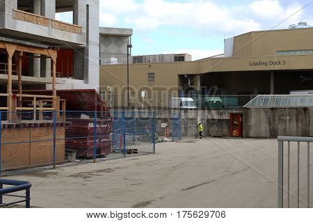Construction Site And Loading Dock