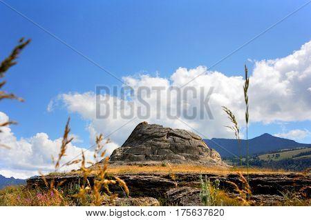 Mound Called Soda Butte