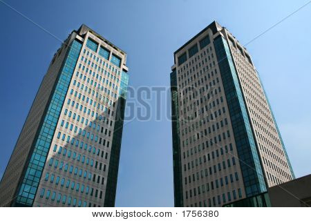 Business Building Towers