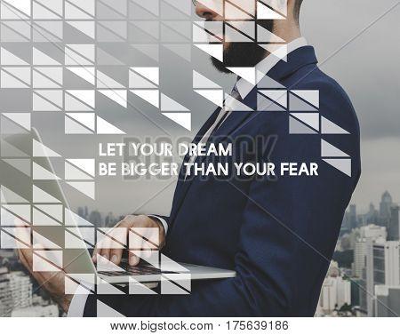Aspiration Quotation Message Motivation Vision