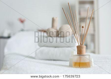 Aroma sticks in spa center