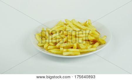 French fries, chips or finger chips are served hot, either soft or crispy, and are generally eaten as part of lunch or dinner or by themselves as a snack