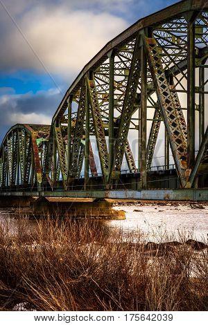 Nice architecture bridge in Sackville, New Brunswick, Canada.