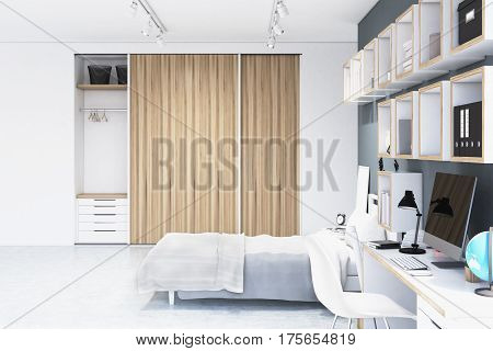 Built In Wadrobe In A Room