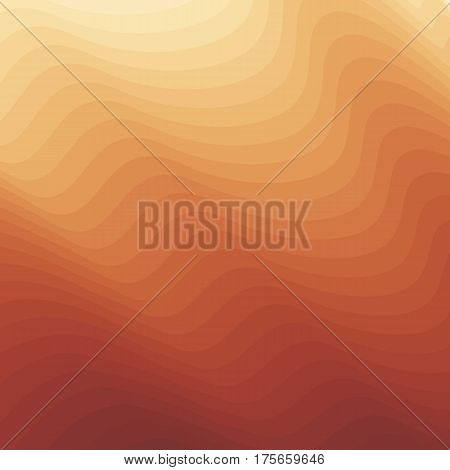 Vector orange yellow smooth texture background. Abstract colorful backdrop