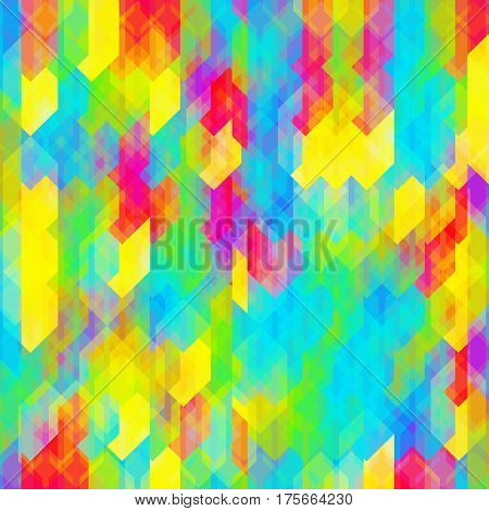 Coloful mosaic background. Vector abstract texture in multicolor