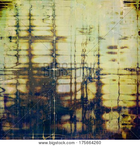 Hi res grunge texture or retro background. With different color patterns: yellow (beige); brown; green; blue; black