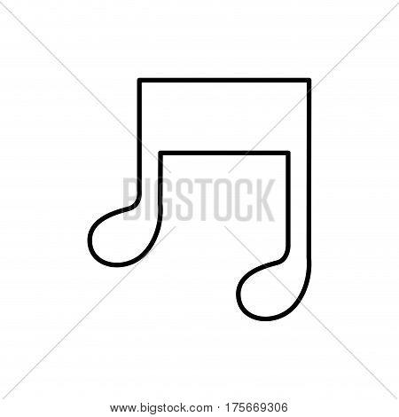 figure music sign icon, vector illustraction design image