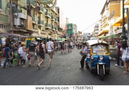 Blur Khao San Road