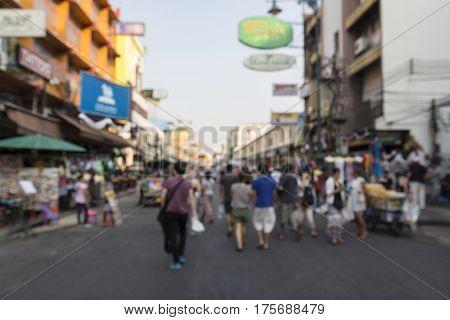Blur Khao San Scene