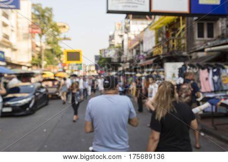 Blur Khao San Tourist