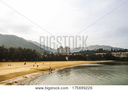 Secluded beach during the daytime in Hong Kong