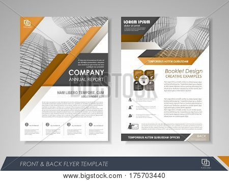 Modern orange Brochure design, Brochure template, Brochures, Brochure layout, Brochure cover, Brochure templates, Brochure layout design, Brochure design template, Brochure mockup, Brochure