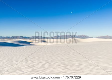 White Sands National Monument Dunes, New Mexico