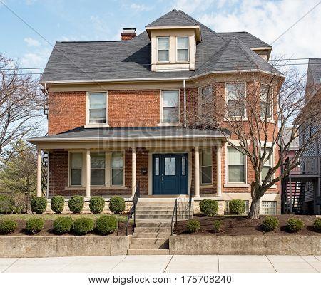 Stately Urban Red Brick House