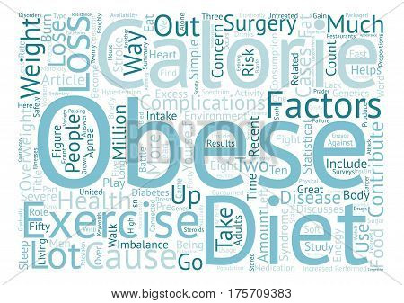 A Battle of Great Proportions The Fight Against Obesity text background word cloud concept