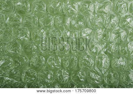 Wrapping Plastic Bubbles Texture Background