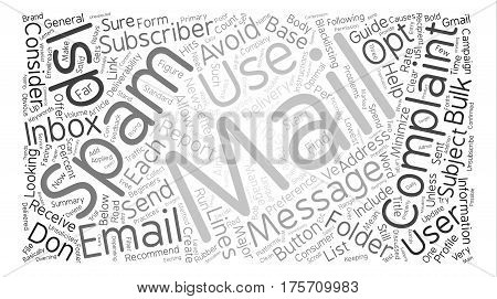 A Beginners Guide to ISP Inbox Delivery Word Cloud Concept Text Background