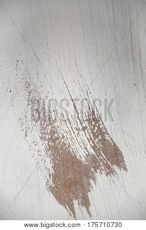 White wood texture. White wood background. Close up view of white wood texture and background. Abstract background and texture for designers. Vintage wood texture.