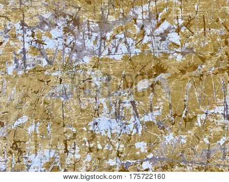 Scratched graffiti wall grunge paint layer textured weathered background