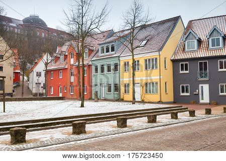 Traditional Colorful Living Houses, Germany