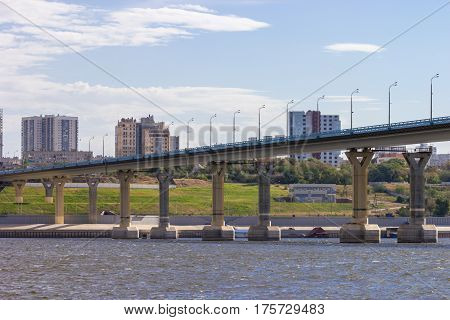 City View And Bridge Over The River