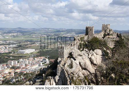 Castle Of The Moors Sintra, Lisbon, Portugal