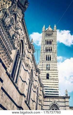 Siena Cathedral In Siena, Italy