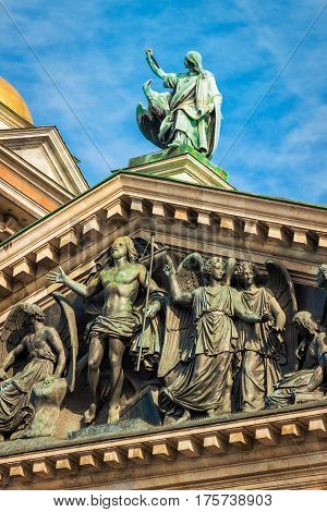 Isaac Cathedral, Saint Petersburg