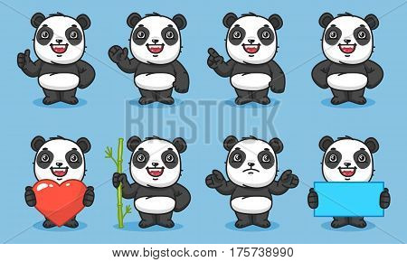 Panda Set Characters Part 1