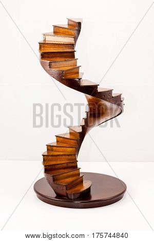 The Path - a small set of wooden stairs to nowhere