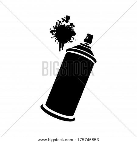 aerosol sprays with a stain icon, vector illustraction design