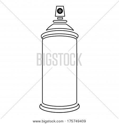 figure aerosol sprays icon, vector illustraction design