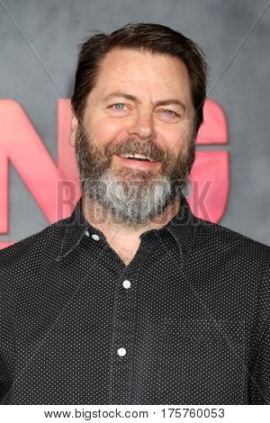 LOS ANGELES - MAR 8:  Nick Offerman at the