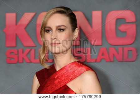 LOS ANGELES - MAR 8:  Brie Larson at the