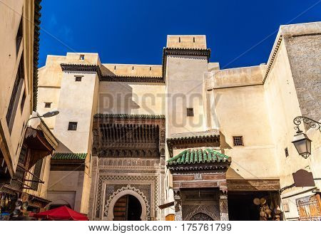 Sidi Ahmed Tijani Mosque in Fes - Morocco poster