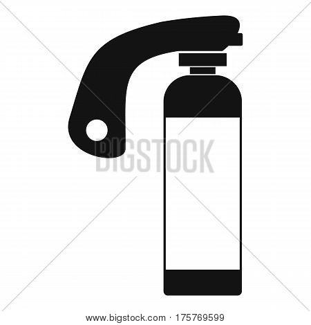 Fire extinguisher icon. Simple illustration of fire extinguisher vector icon for web