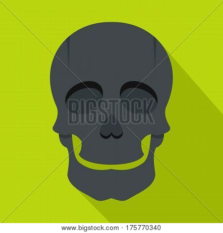 Singer mask icon. Flat illustration of singer mask vector icon for web