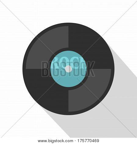 Vinyl icon. Flat illustration of vinyl vector icon for web