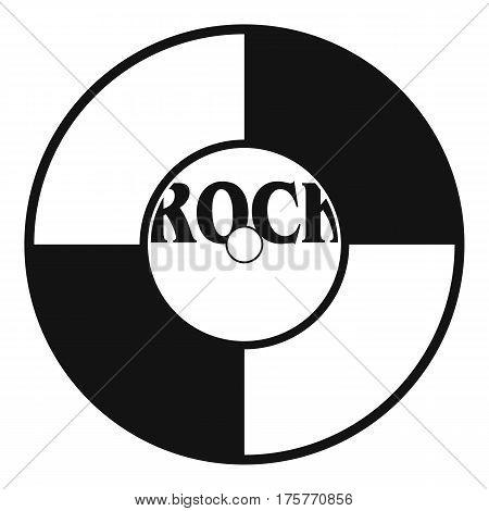 Vinyl icon. Simple illustration of vinyl vector icon for web