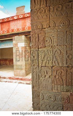 Patio Of The Pillars (patio De Los Pilares), Teotihuacan