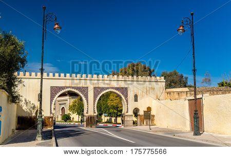 Bab Riafa, a gate of Fes - Morocco