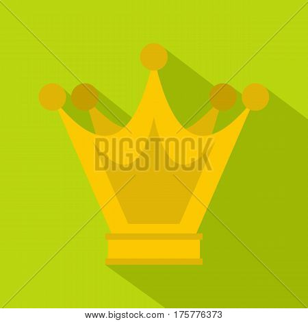 Princess crown icon. Flat illustration of princess crown vector icon for web