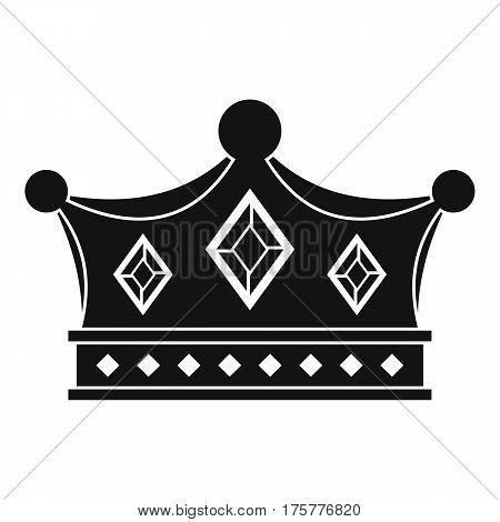 Prince crown icon. Simple illustration of prince crown vector icon for web