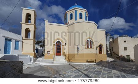One of the main churches of Chora on Serifos island in Greece.